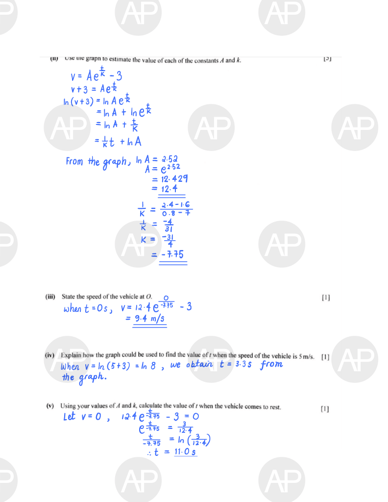 2019 O Level A Math Paper 2 The Annexe Project Page 11